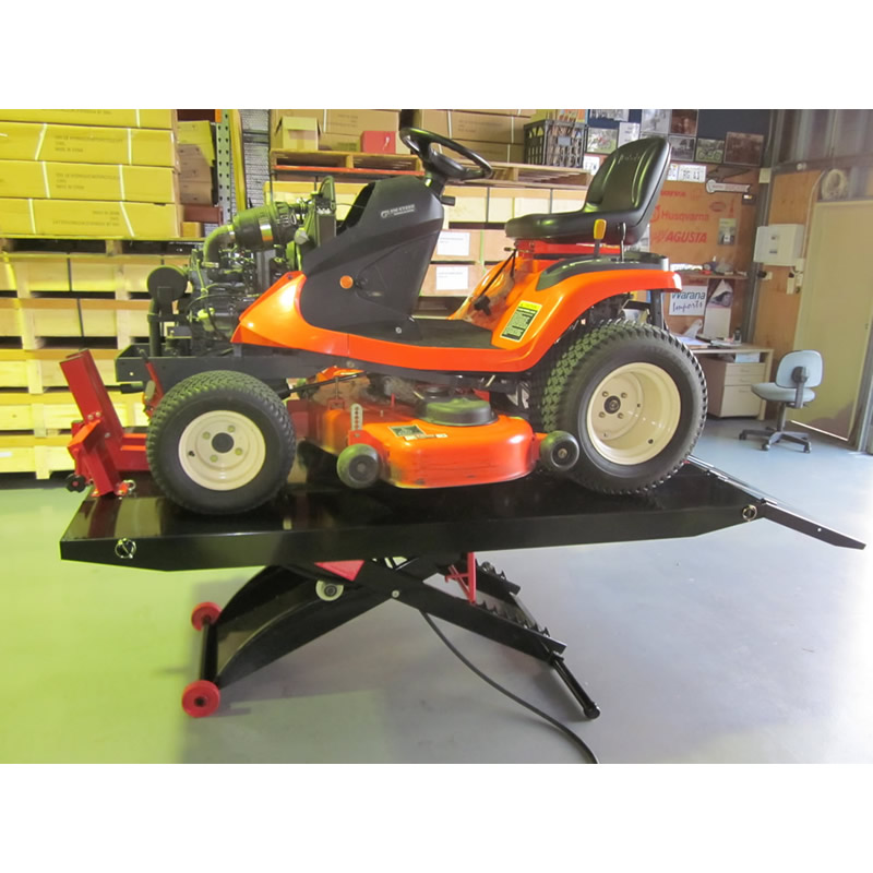 Mower on Air Lifter